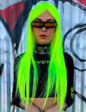 IMMORTAL WIG - NEON YELLOW