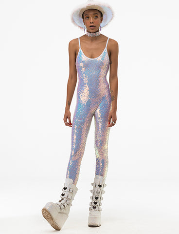 COSMIC ICE SEQUIN CATSUIT