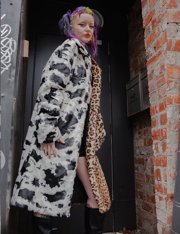 JUNGLE FAUX FUR JACKET *PRE ORDER*