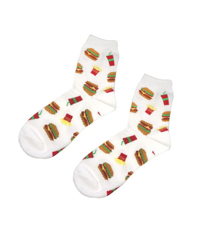 FAST FOOD KNITTED SOCKS