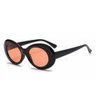 TEEN SPIRIT SHADES - BLACK ORANGE LENS