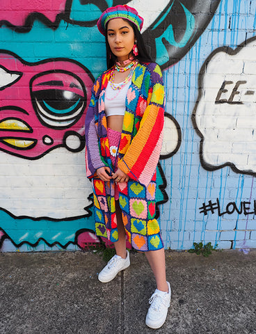 LOVE IS LOVE COSY CARDIGAN