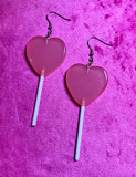 LOLLIPOP EARRINGS - PINK