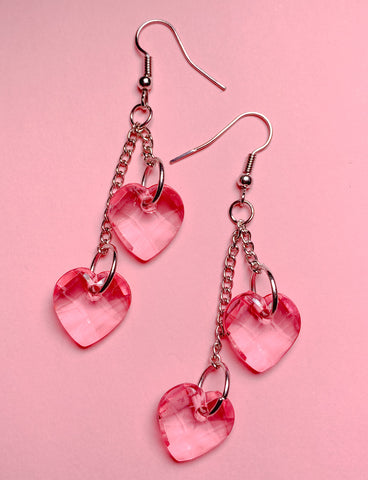 LOVE ME HEART EARRINGS