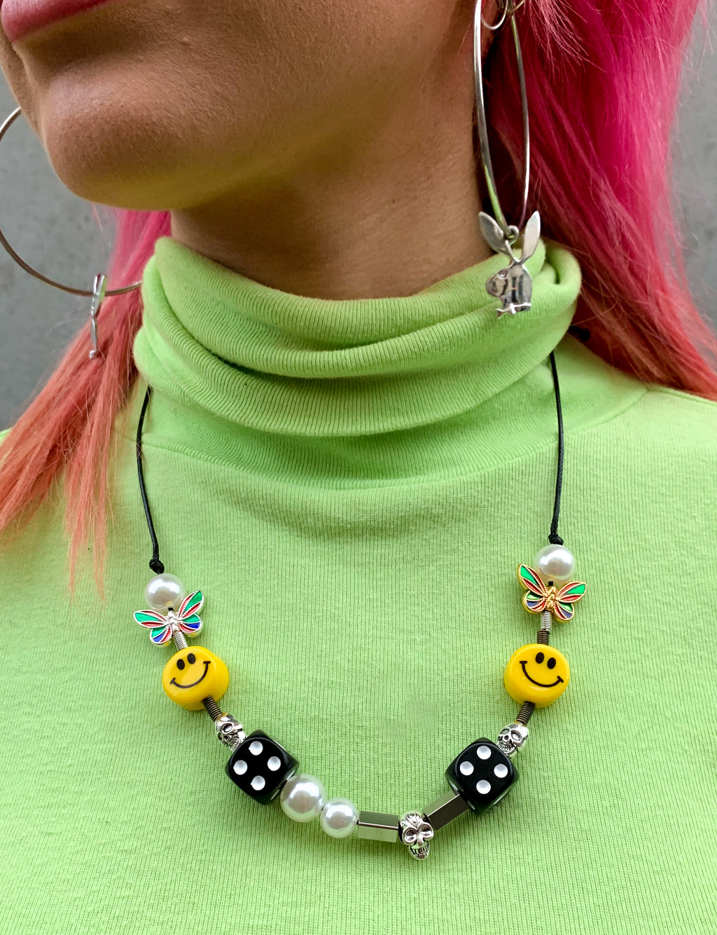 LUCKY DICE NECKLACE