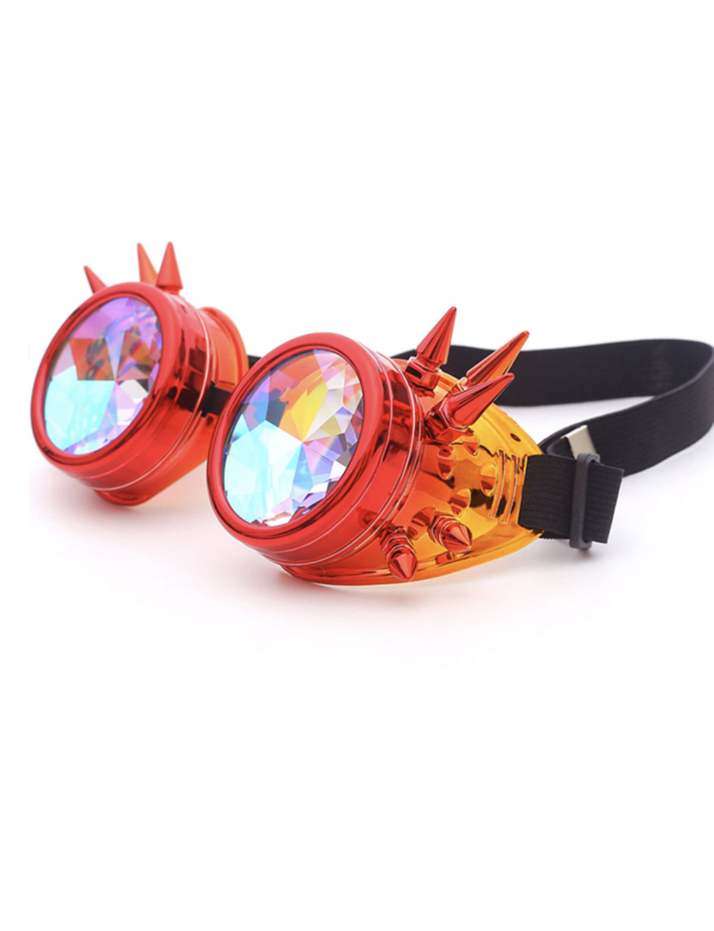 MAD MAX GOGGLES - RED/ORANGE