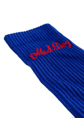 MAD DOG ROYAL BLUE SOCKS