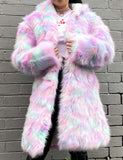 *EXCLUSIVE* MARSHMALLOW FAUX FUR JACKET *MADE TO ORDER*