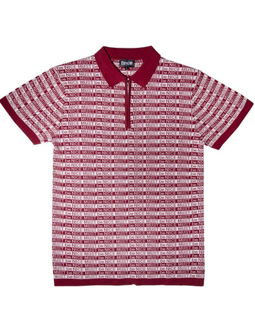HALF ZIP RUGBY POLO