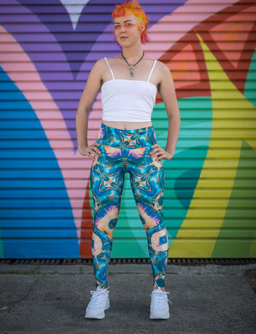 Into The Portal Leggings