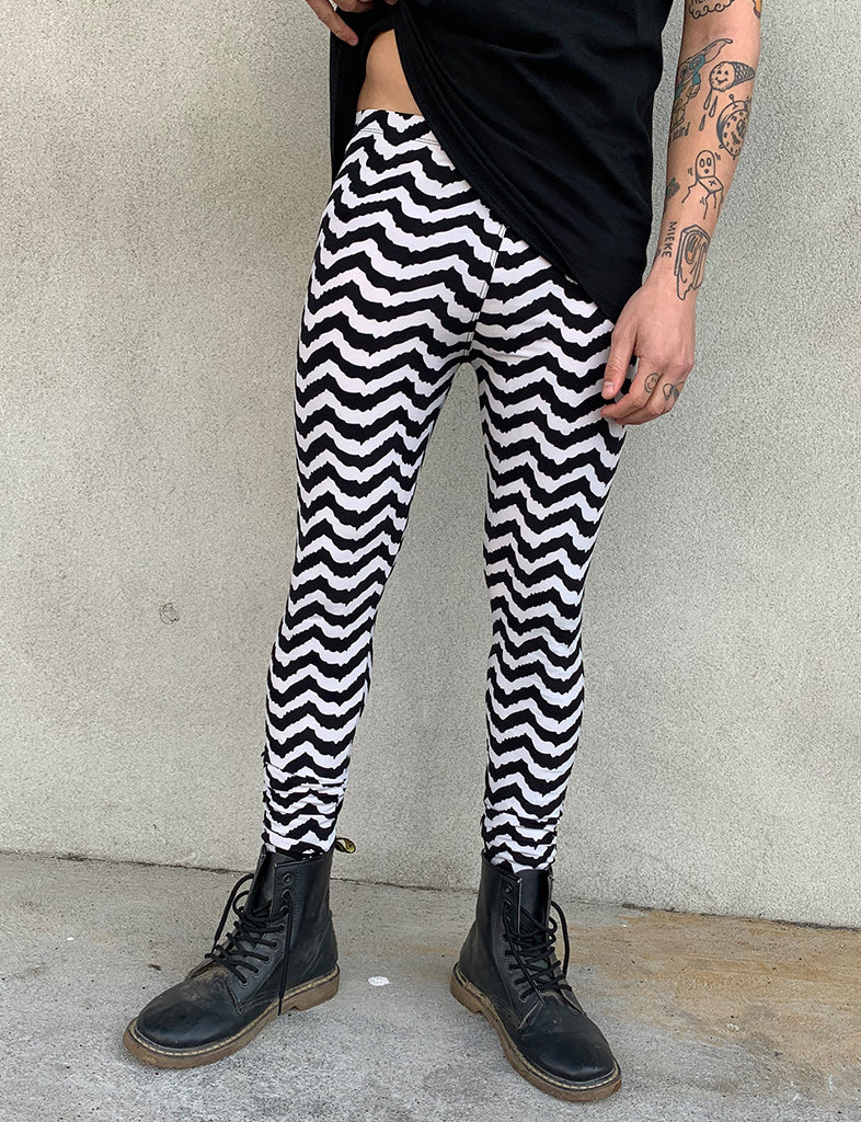 DOOF MEGGINGS - WAVEY STRIPE