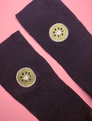 FEAST ON FRUIT SOCKS - MELON