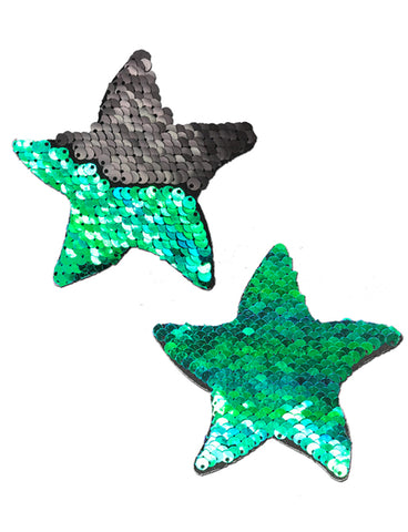 STARFISH NIPPLE PASTIES - MERMAID SEQUIN