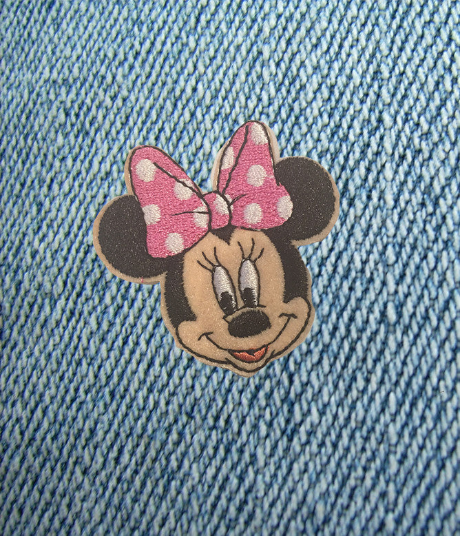 MINNIE MOUSE IRON ON PATCH