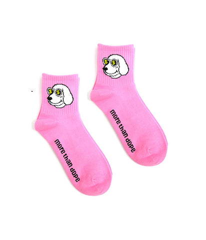 MONEY POOCH KNITTED SOCKS