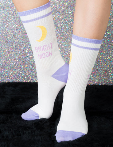 BRIGHT MOON KNITTED SOCKS