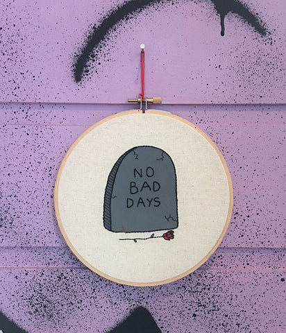 NO BAD DAYS TAPESTRY