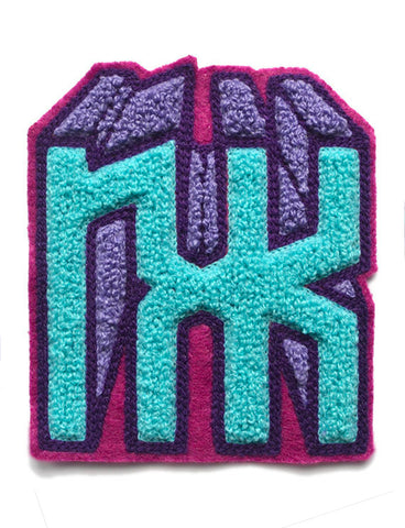 DIGITAL DRIFT NXK CHENILLE PATCH