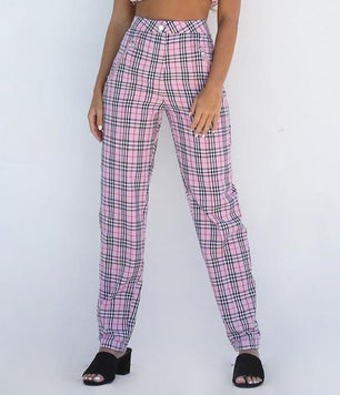 CLUELESS PANTS - PINK