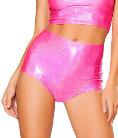HOT PINK TWINKLE SHORTS