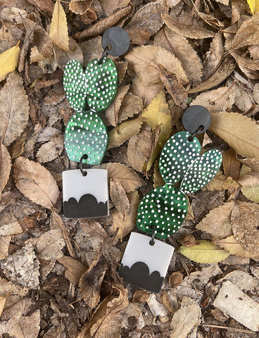 POTTED PRICKLY PEAR EARRINGS
