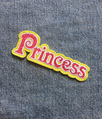 PRINCESS IRON ON PATCH