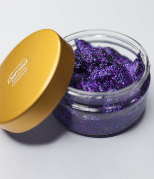 PURPLE BIODEGRADABLE HAIR GLITTER GLUE