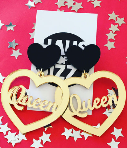 QUEEN OF HEARTS EARRINGS
