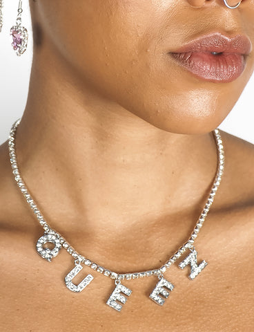 QUEEN DROP DIAMONTE NECKLACE