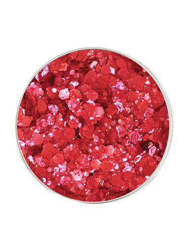 FIRECRACKER RED ECO GLITTER
