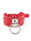 INTO THE UNKNOWN CHOKER - RED