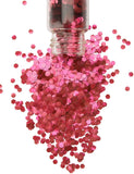 RED BIODEGRADABLE GLITTER