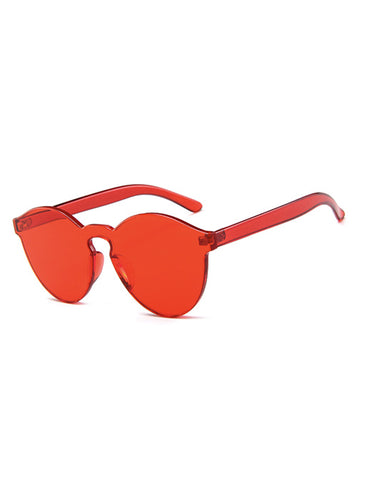 SEE THROUGH ME SHADES - RED