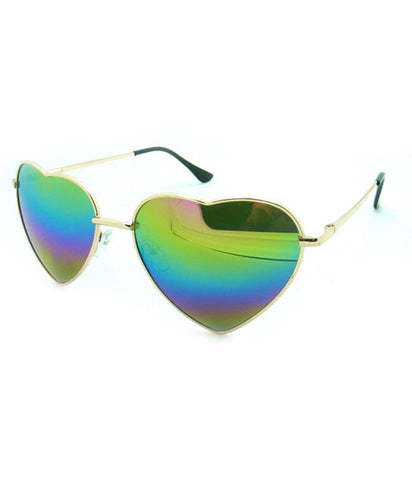 REFLECT ME RAINBOW HEART SHADES *PRE ORDER*