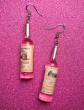 WINE CLUB EARRINGS - ROSE