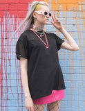LAZY OAF G.E.M SHEER ROYAL TEE