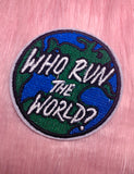 WHO RUN THE WORLD PATCH