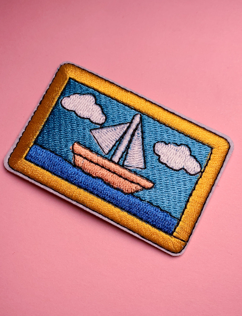 SAILING PICTURE PATCH
