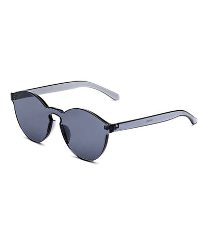 SEE THROUGH ME SHADES - SMOKEY BLACK