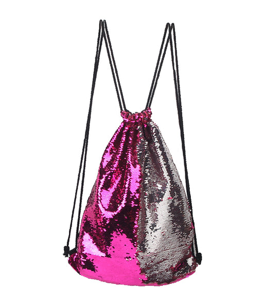 TODDY TIME PINK SEQUIN BACKPACK