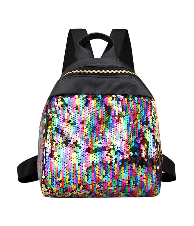 RAINBOW SERPENT SEQUIN MINI BACKPACK