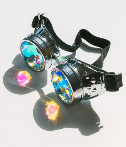 KALEIDOSCOPE GOGGLES - SILVER