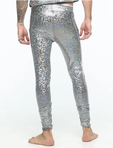 STRAIGHT UP SILVER ECO GLITTER