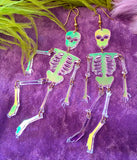 SKELETON BODY EARRINGS