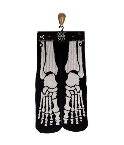 SKELETON KNITTED SOCKS