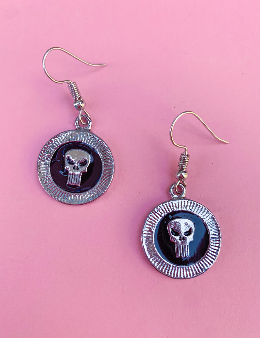 SKULL COIN EARRINGS