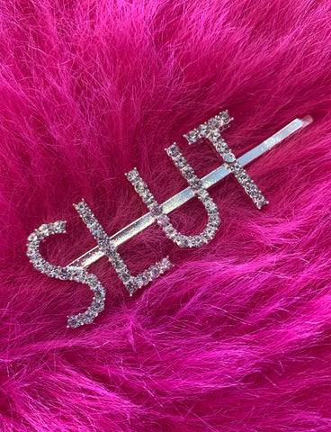 SLUT DIAMONTE HAIR CLIP