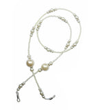 SMALL TALK SUNGLASS CHAINS - WHITE