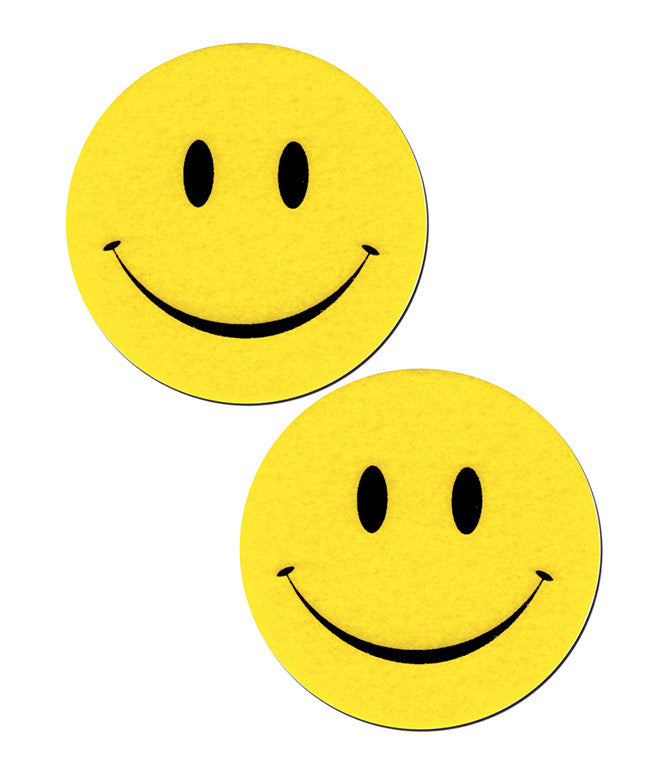 SMILEY FACE NIPPLE PASTIES