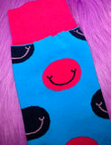 SMILEY SOCKS - BLUE